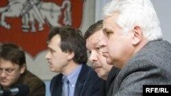 Юры Пацёмкін, Анатоль Лябедзька, <br/>Сяргей Калякін, Віктар Карняенка