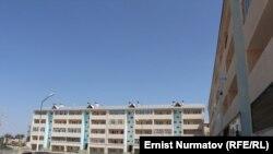 Новое жилье для пострадавших, Ош, 1 августа 2012 года.
