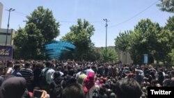 Protest at Tehran University, May 13, 2019