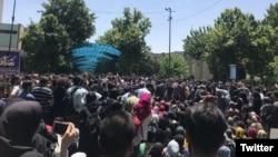 تجمع اعتراضی امروز در دانشگاه تهران