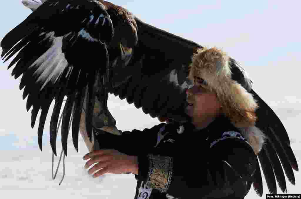 Соревнования среди беркутчи проводятся в Казахстане уже более 30 лет.