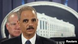 Генеральный прокурор США (министр юстиции) Эрик Холдер