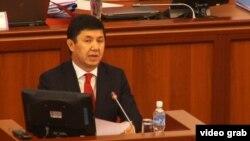 Kyrgyz Prime Minister Temir Sariev