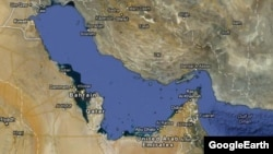 Iran - Persian Gulf on Google Maps