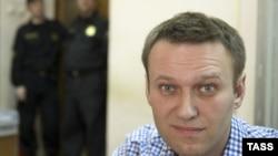 Лидер оппозиции и активный блогер Алексей Навальный. Москва, 7 марта 2014 года.