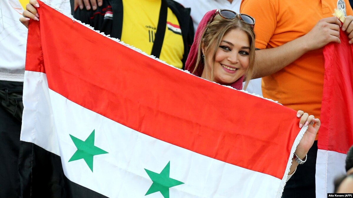 Iranian Women Angered As Syrian Female Fans Allowed Into Soccer Match b4c602921e76