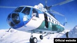 МАИ авиакомпаниясига қарашли вертолёт (сурат Ўзбекистон ҳаво йўллари сайтидан олинди)