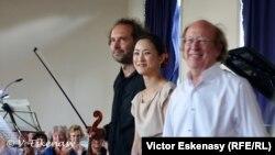 Răzvan Popovici, Mookie-Lee Menuhin și Michel Lethiec, după un Trio cu clarinet de Robert Schumann, Rolandseck