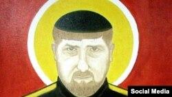 """Икона"" Кадырова, автор – Айдар Бекчинтаев"