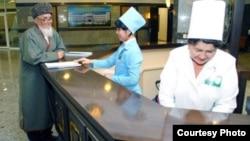 Фотография с правительственного сайта, иллюстрирующая модернизацию системы здравоохранения Туркменистана.