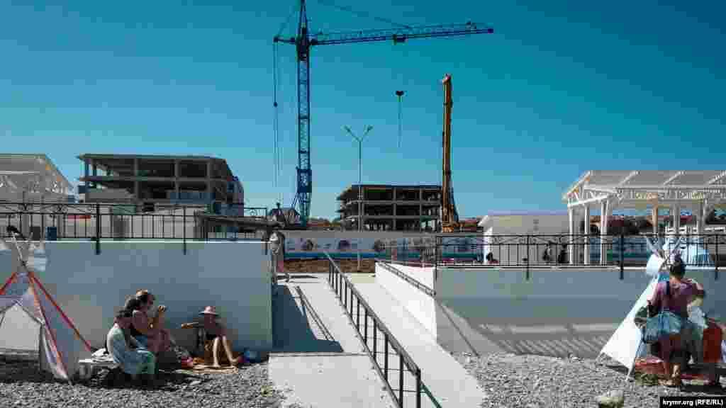 Строительство новых корпусов элитной недвижимости продолжается