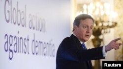 Ұлыбритания премьер-министрі Дэвид Камерон. Лондон, 11 желтоқсан 2013 жыл.