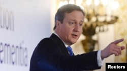 Премьер-министр Великобритании Дэвид Кэмерон.