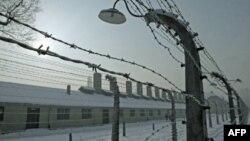 Освенцим лагері. Польша, 27 қаңтар 2010 жыл. (Көрнекі сурет).