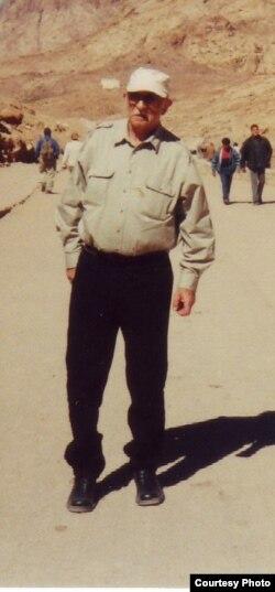 Александр Пятигорский в Египте, 2000 г. Фото Людмилы Пятигорской