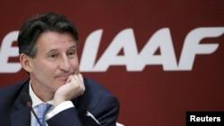 IAAF President Sebastian Coe (file photo)