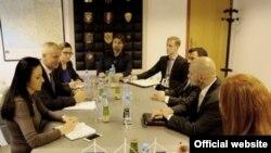 Predstavnici State Departmenta u posjeti Direkciji za koordinaciju političkih tijela BiH, 31. maja 2016.