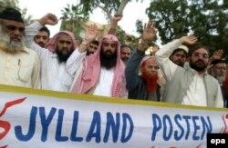 Акции протеста против газеты Jyllands-Posten в Пакистане. 2006 год