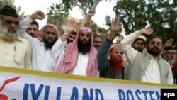 Датчанам больше не до смеха. Демонстрация протеста в Пакистане