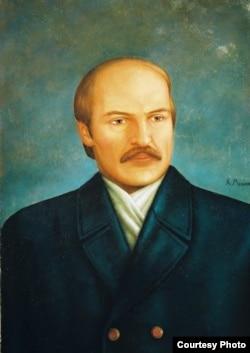 Партрэт Аляксандра Лукашэнкі. Кірыла Мельнік