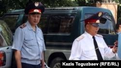 Полицейские Алматы. Иллюстративное фото.