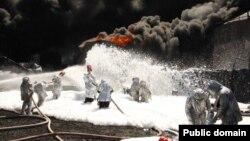 Пожежа на нафтобазі компанії «БРМС-нафта» біля Києва, 10 червня 2015 року