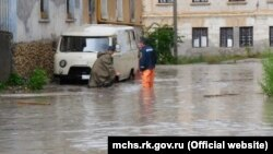 Паводок в Крыму. Архивное фото