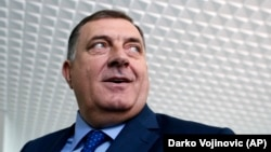 Bosnian Serb leader Milorad Dodik