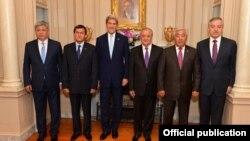 Встреча министров иностранных дел стран Центральной Азии и госсекретаря США в формате С5+1