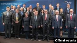 Представители стран-участниц «Восточного партнерства».