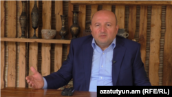 Armenia - Former Gyumri mayor Vardan Ghukasian, 16May2017.