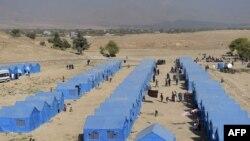 Kampet e të zhvendosurve afganë në Kabul