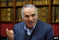Гарри Каспаров - один из самых непримиримых критиков режима Владимира Путина