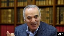 Один из участников Форума - Гарри Каспаров