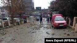 Ulice Prištine dan nakon protesta