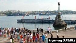 Репетиція морського параду, Севастополь, 27 липня 2017 року