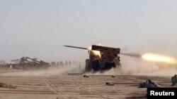 صاروخ كراد الذي انتجته منشأت التصنيع العسكري في العراق خلال الثمانينات