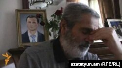 Armenia -- Emil Budaghian, father of Artak Budaghian, Goris, 26Feb2014