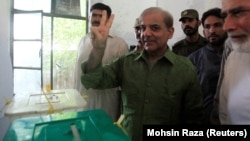 Shehbaz Sharif is the head of the Pakistan Muslim League-Nawaz.