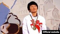 Одна из участниц Чемпионата Азии-2017 в Нью-Дели Айсулуу Тыныбекова. Архивное фото.