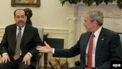 زمانی که نوری المالکی در بغداد به قدرت رسید، به حمایت همه جانبه جرج بوش رو به رو بود.