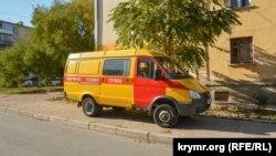 Машина аварийной газовой службы, иллюстрационное фото