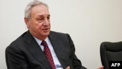 Abkhazia's leader Sergei Bagapsh