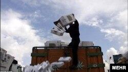 کشف محموله کالای قاچاق در کردستان، ایران