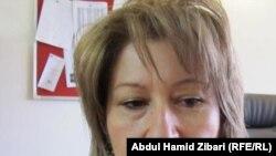 سوزان عارف رئيسة منظمة تمكين المرأة في كردستان