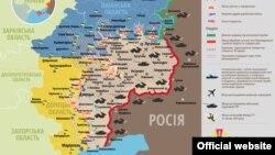 Ситуація в зоні бойових дій на Донбасі, 29 січня 2015 року