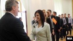 Од наугурацијата на претседателот на Република Македонија Ѓорге Иванов. 12 мај 2014.