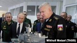 Владимир Путин в Севастополе, 9 января 2020 года