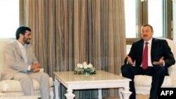 محمود احمدی نژاد سال گذشته نیز از باکو دیدار کرده بود.