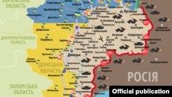 Сытуацыя ў зоне баявых дзеяньняў на Данбасе 21 чэрвеня